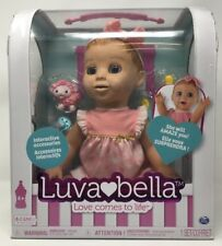 New Luvabella Interactive Baby Doll Blonde Play & Learn