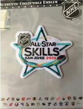 2019 NHL ALL STAR GAME SKILLS PATCH NATIONAL HOCKEY LEAGUE  OFFICIAL SAN JOSE
