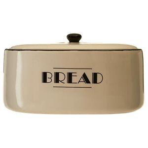 Broadway Dolomite Bread Bin Storage Jar Ceramic Container Vintage Art Deco Style