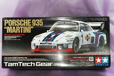 "TAMIYA 1/12 RC PORSCHE 935 ""MARTINI"" Model Kit GT-01 Chassis #57104 NEW"