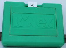 K'nex Green Storage Carry Case of Knex Building Parts