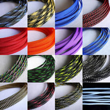 16mm Braided Wide Soft PP Cotton Yarn+ PET Expandable Sleeving Cable Wire Sheath