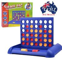 Quarto Connect 4 Classic Grid Board Game Sports Entertainment Toys Kids Gift AU!