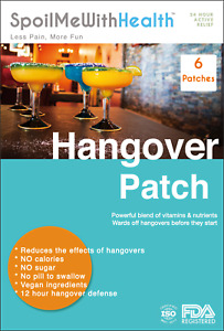 Detox Patches. Hangover Relief. Recovery Support.