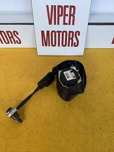 Vauxhall Corsa D 3 Door Passengers Nearside Front Seatbelt Black Seat Belt Ref 1