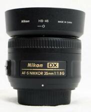 Nikon DX AF-S Nikkor 35mm f/1.8G Prime Lens for Crop Sensor - MUST READ! (7838)