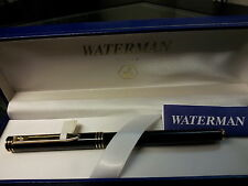 WATERMAN EXCLUSIVE BROWN MARBLE  FOUNTAIN PEN 18K GOLD  FINE PT  IN BOX  @@