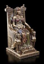Kleopatra Figur - Sitzend auf Thron - Veronese Königin Pharaonin Deko Statue