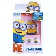 Minion Kids Plasters 18 Hypoallergenic Washproof Latex Free