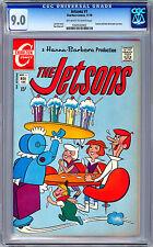 THE JETSONS #1 CGC 9.0 NM CLASSIC 1960'S ANIMATED TV SERIES ADAPTN CHARLTON 1970