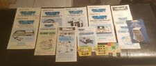 Lot of 19 instruction booklet coleco