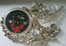 Vintage Pegasus Wall Clock - Unicorn Large Works