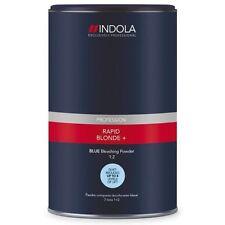 INDOLA RAPID Biondo + BLU dust-free polvere capelli CANDEGGINA 450g