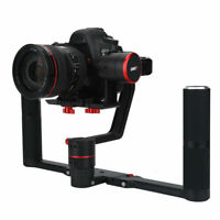 Feiyu A1000/2000 3Axis AntiShake Gimbal Dual Handheld Stabilizer for DSLR Cam