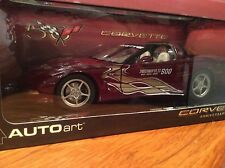 Auto Art 1/18 2002 Chevy Corvette Indi Pace CAR 50th Anniversary Item 80206