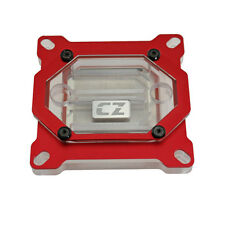 CZ Horde Intel CPU Water Block Cooling Silver- Plated