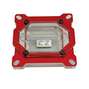 CZ Horde Intel CPU Water Block Cooling Silver- Plated  - A57