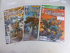 FLASHPOINT Frankenstien and the Creatures of the unknown   # 1 - 3 set