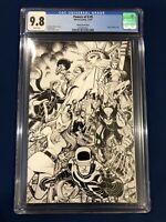 Powers of X #5 X-Men Virgin Sketch Variant NYCC (Exclusive) CGC 9.8 Near Mint