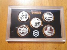 2018 S Silver Proof America The Beautiful Quarter Set  No Box or Coa  IN STOCK