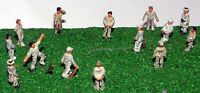 Cricket Game Figures (N Scale) - Unpainted - Langley A76