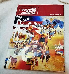 The Quarter Horse Journal August 1991