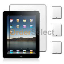 3X Ultra Clear HD LCD Screen Protector for Tab Tablet Apple iPad 1 1st Gen 9.7""