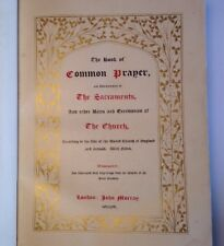 Common Prayer, Luxury Illuminated Engravings Of Great Painters, c1844