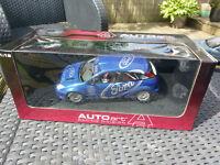 AUTOart Ford Focus WRC Presentation Car 1999 Blue - 1:18 Die Cast Model Car