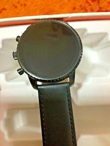 Fossil GEN 4 FTW4018 Women's Black Silicone Digital Dial Hybrid Smartwatch BS250