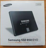 "Samsung 850 EVO MZ7LN120 120GB 2.5"" (MZ-75E120B/AM) Solid State Drive SSD"