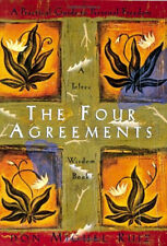 NY Times Bestseller The Four Agreements 4 Paperback by Miguel Ruiz B Happy Guide