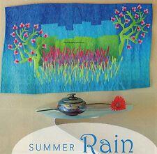 Summer Rain Quilt Pattern Pieced/Applique/Free Form Applique FA