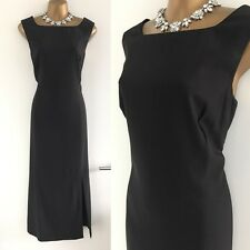Jaeger London DRESS SIZE 14 Party Formal Gown Evening Work Cruise Wool Business.
