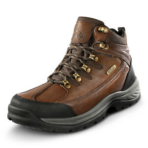 NORTIV 8 Men's Safety Shoes Steel Toe Work Boots Indestructible Waterproof Boots