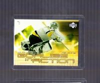 2001-02 Upper Deck Goalies in Action Johan Hedberg #GL5 Pittsburgh Penguins