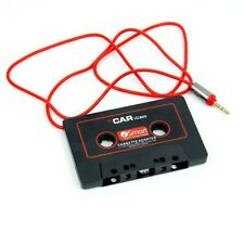 Audio Cassette Tape Adapter Aux Cable Cord Mp3 iPod Cdplayer Connectioner Wh1