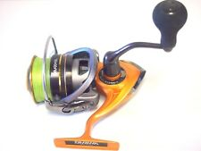 FISHING REEL DAIWA TD SOL II 3000H WITH GREEN BRAID  SPINNING REEL