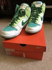 Nike Dunk Glow in the Dark. Size 10