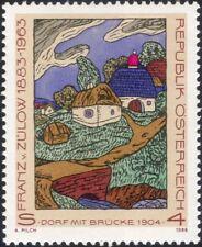 Austria 1988 Franz von Zulow/Modern Art/Painter/Paintings/Artists 1v (at1146a)