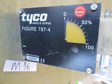 "Used Keystone Tyco Pneumatic Rack & Pinion Actuator, 2"" MRP-004U-K-S081, Militar"