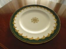 Foley Green & Gold Starter Plate