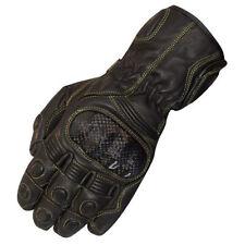 Gants thermique en cuir pour motocyclette Homme