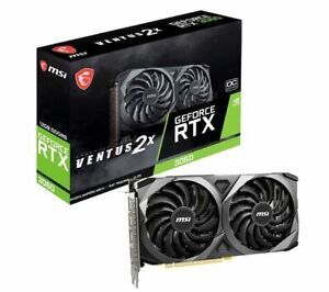***BRAND NEW** MSI GeForce RTX 3060 VENTUS 2X OC 12GB GPU Graphics Card