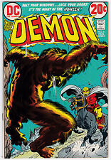 Demon #6 VF-NM 9.0 Jack Kirby Story And Art!
