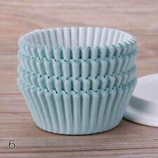 100PCS Paper Cupcake Case Wedding Wrapper Muffin Liners Baking Cups YU#CA