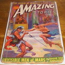 Amazing Stories Vintage Science Fiction Pulp Magazine – October, 1941