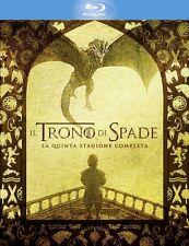 Il Trono Di Spade - Stagione 05 (4 Blu-Ray) - ITALIANO ORIGINALE SIGILLATO -