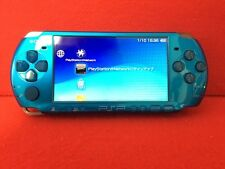 USED PSP Vibrant Blue PSP 3000 VB PlayStation Portable Sony Game Console only