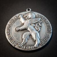 Medaille , Radio - Tele Luxemburg , Luxembourg , Alas Leoni Dedit , Löwe